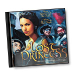 Don Juan and Miguel - THE LOST PRINCESS Original Soundtrack Recording, CD